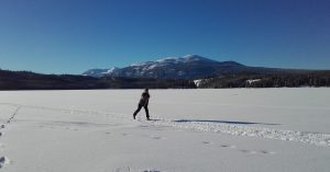 Cross country skiing at Terra Nostra Guest Ranch