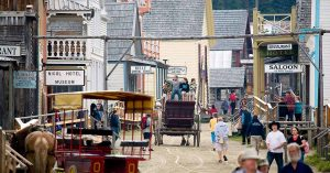 Photo of Historic Barkerville during Barkerville Days