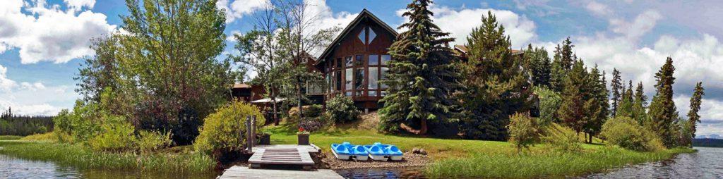 Eagle's Nest Resort at Anahim Lake, BC