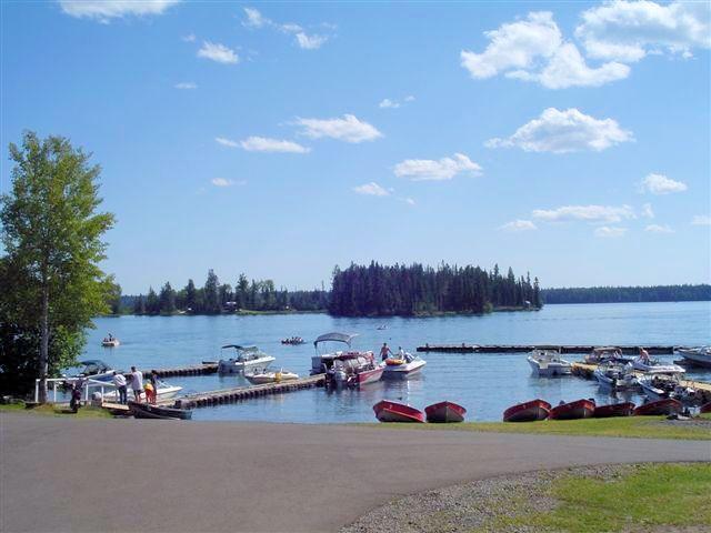 Sheridan Lake Resort at Sheridan Lake, BC near 70 Mile BC