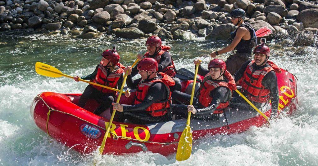 REO Rafting Cariboo BC